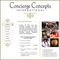 Custom Websites - Concierge Concepts